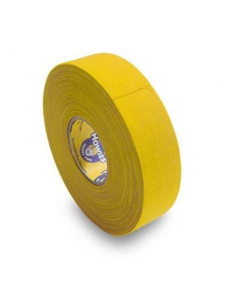 Лента для клюшки HOWIES 24ММ Х 23М (желтая)