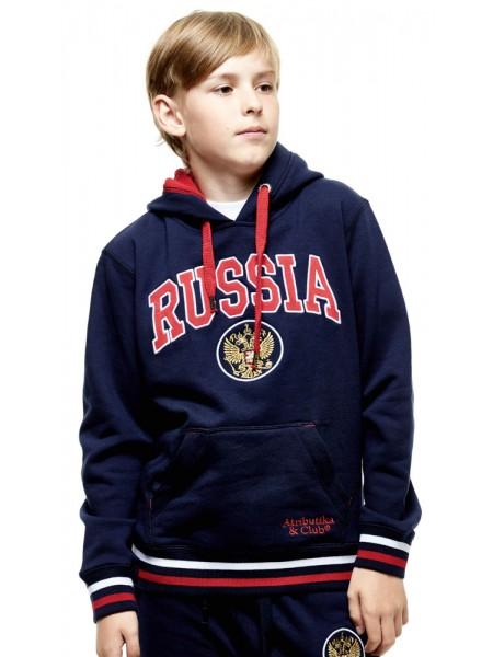 Толстовка подростковая RUSSIA